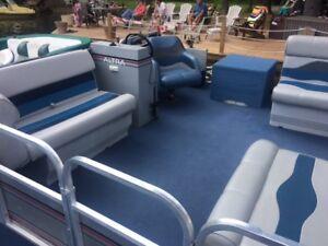 16' x 8' Springbok Pontoon Boat