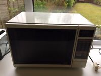 Large Microwave for sale clean and in perfect working order.