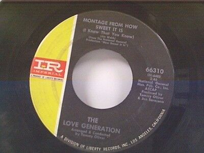 Love Generation  Montage From How Sweet It Is   Consciousness Expansion  45