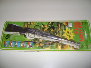 1960s Die-Cast bolt action Military TOY NOT OPENED