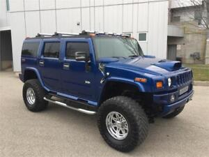 2006 HUMMER H2 4X4 LIFTED UPGRADED WHEELS NAVIGATION SUNROOF