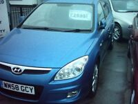 hyundai i30 09 one owner £2695