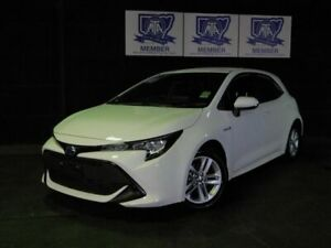 2018 Toyota Corolla ZWE211R Ascent Sport E-CVT Hybrid White 10 Speed Constant Variable Hatchback Albion Park Rail Shellharbour Area Preview