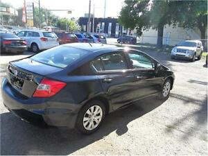 2012 Honda Civic Sdn LX  AUTOMATIC EASY FINANCE WE FINANCE ALL Edmonton Edmonton Area image 5