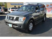 2006 Nissan Pathfinder SE 4WD SUV: Sunroof, Leather, 7 Passenger