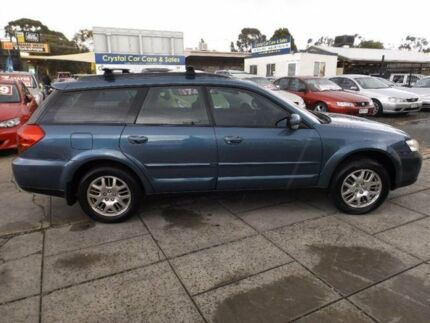 2005 Subaru Outback MY06 2.5I Safety Blue 4 Speed Auto Elec Sportshift Wagon Park Holme Marion Area Preview