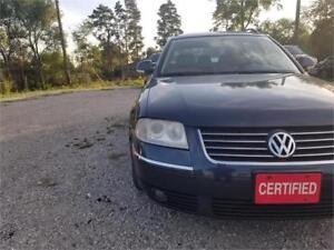 2005 Volkswagen Passat GLS TDI Accident free fully Certified