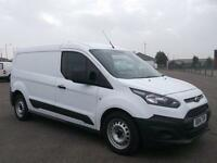 Ford Transit Connect 1.6 TDCI 75PS LWB VAN DIESEL MANUAL WHITE (2014)