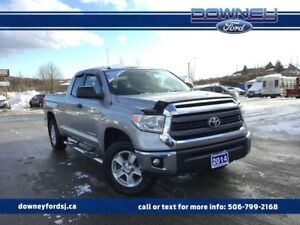 2014 Toyota Tundra SR 5.7L V8 POWER DRIVER SEAT TOUCH SCREEN DIS