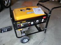 DEK 5000 Portable Generator - 1.25hrs only - non running