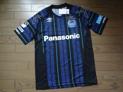 Gamba Osaka 100% Original Jersey Shirt 2016 Home BNWT J-League M-L Rare image