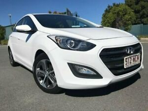 2016 Hyundai i30 GD4 Series II MY17 Active X White 6 Speed Sports Automatic Hatchback Arundel Gold Coast City Preview