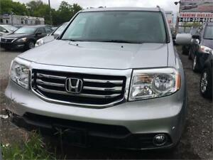 2013 Honda Pilot Touring|NAVI|LEATHER|ACCIDENT FREE|DVD|