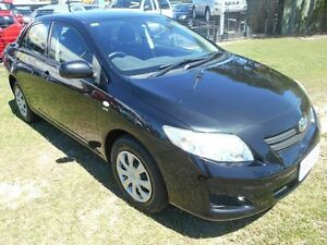 2009 Toyota Corolla ZRE152R Ascent Black 6 Speed Manual Sedan Kippa-ring Redcliffe Area Preview