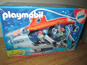 REDUCED/REDUIT!PLAYMOBIL SUBMARINE/SOUSMARIN SEALED/SCELLÉ!!!***