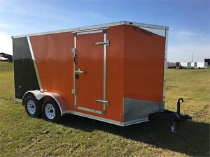 7ft x 14ft Enclosed Cargo Trailer (RWT7x14TA2)