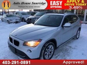 2012 BMW X1 AWD NAVIGATION MOONROOF
