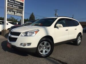 2012 Chevrolet Traverse AWD, 8 PASSENGER, HEATED SEATS
