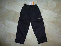Children's Regatta Waterproof Over Trousers Black Age 5-6 BNWT