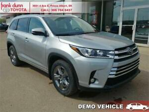 2018 Toyota Highlander Limited Package *Dealer Demo*