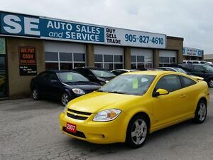 2007 Chevrolet Cobalt SS Coupe (2 door) 116 Kms $4399 Cert