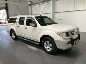 2006 Nissan Navara D40 ST-X (4x4) White 5 Speed Automatic Dual Cab Pick-up