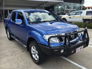2012 Nissan Navara D40 S6 MY12 ST Blue 6 Speed Manual Utility Yamanto Ipswich City Preview
