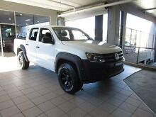 2012 Volkswagen Amarok 2H MY12 TDI340 (4x2) Candy White 6 Speed Manual Dual Cab Utility Thornleigh Hornsby Area Preview
