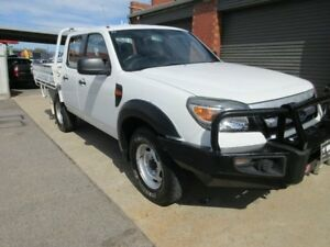 2010 Ford Ranger PK XL (4x4) White 5 Speed Manual Dual Cab Chassis Gilles Plains Port Adelaide Area Preview