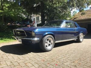 Mustang 1967 Coupe Dark Blue