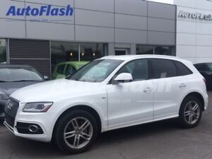 2016 Audi Q5 Progressiv 3.0T 272hp! S-Line *Cuir/Leather*