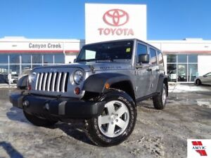 2013 Jeep Wrangler X Unlimited Rubicon W/ HEATED MIRRORS AND NAV
