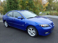 2007  MAZDA 3AUTO LOADED NEW INSPECTION  170000 KM