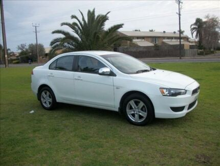 2009 Mitsubishi Lancer CJ MY09 ES 6 Speed CVT Auto Sequential Sedan Alberton Port Adelaide Area Preview