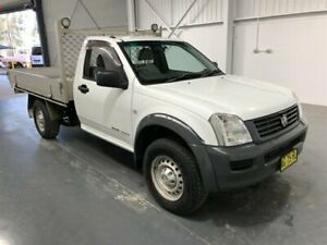 2005 Holden Rodeo RA DX (4x4) White 5 Speed Manual Cab Chassis Beresfield Newcastle Area Preview