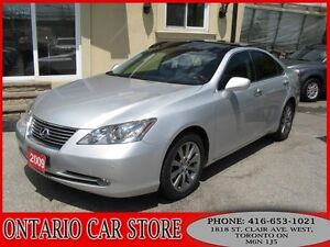 2009 Lexus ES 350 ULTRA PREMIUM NAVIGATION PANORAMIC SUNROOF