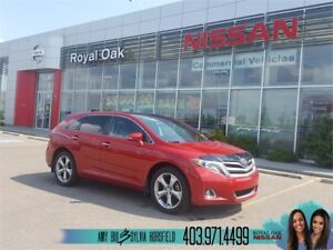 2014 Toyota Venza Limited ** Leather and 2 Sunroof **