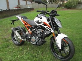 KTM DUKE 125 ABS 2017 MOTORCYCLE