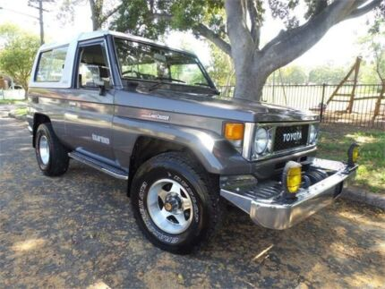 1988 Toyota Landcruiser BJ74 FRP Top Grey Automatic Concord Canada Bay Area Preview