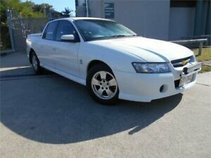 2005 Holden Crewman VZ Storm S White 4 Speed Automatic Utility