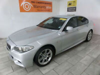 Silver BMW 520 2.0TD Auto D M Sport ***FROM £239 PER MONTH***