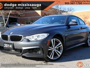 2014 BMW 4 Series 435i xDrive+M PKG+SUNROOF+AWD+LOADED