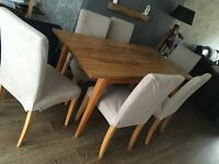 Dining room/kitchen table & 6 chairs £50