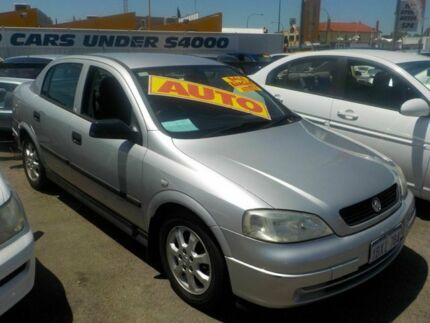 2005 Holden Astra TS MY05 Classic Equipe Silver 4 Speed Automatic Hatchback Victoria Park Victoria Park Area Preview