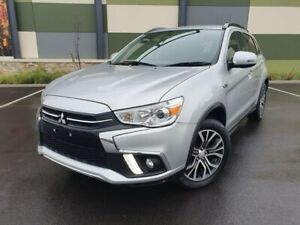 2017 Mitsubishi ASX XC MY18 LS 2WD Silver 6 Speed Constant Variable Wagon Blair Athol Port Adelaide Area Preview