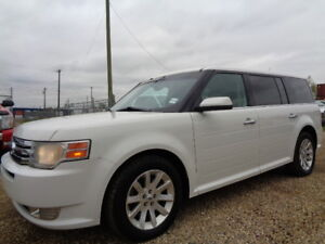 2009 FORD FLEX SEL-AWD-SUNROOF- LEATHER--REMOTE CAR STARTER