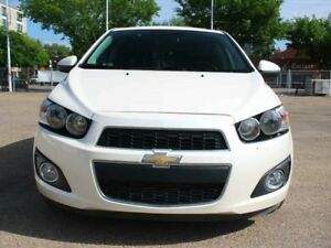 2015 Chevrolet Sonic TURBO LTZ LEATHER WHITE DIAMOND
