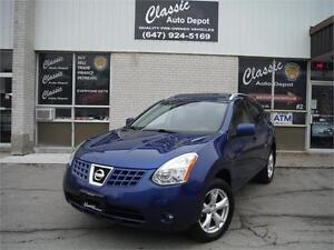2008 Nissan Rogue SL**LEATHER** ALL WHEEL DRIVE**
