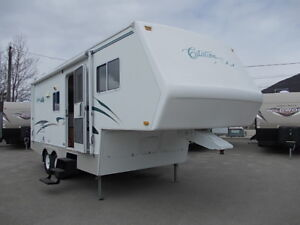 2003 CITATION 24 FOOT 5TH WHEEL