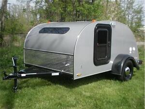 2017 Silver Shadow 6' x 10' Teardrop Camper Trailer